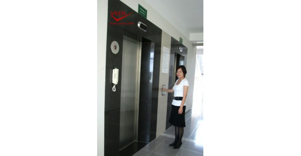 Kiểm soát ra vào thang máy