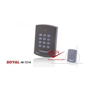 Bộ kiểm soát cửa ra vào tích hợp chấm công nhân viên  (Soyal AR-721H)