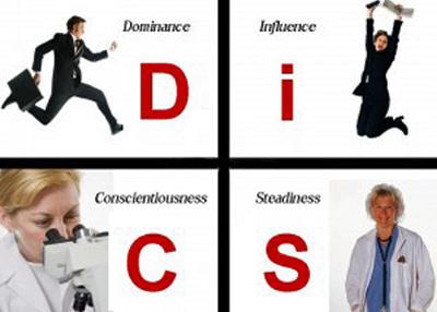 Bốn nhóm tính cách con người – DISC- Cách đọc vị đối tác
