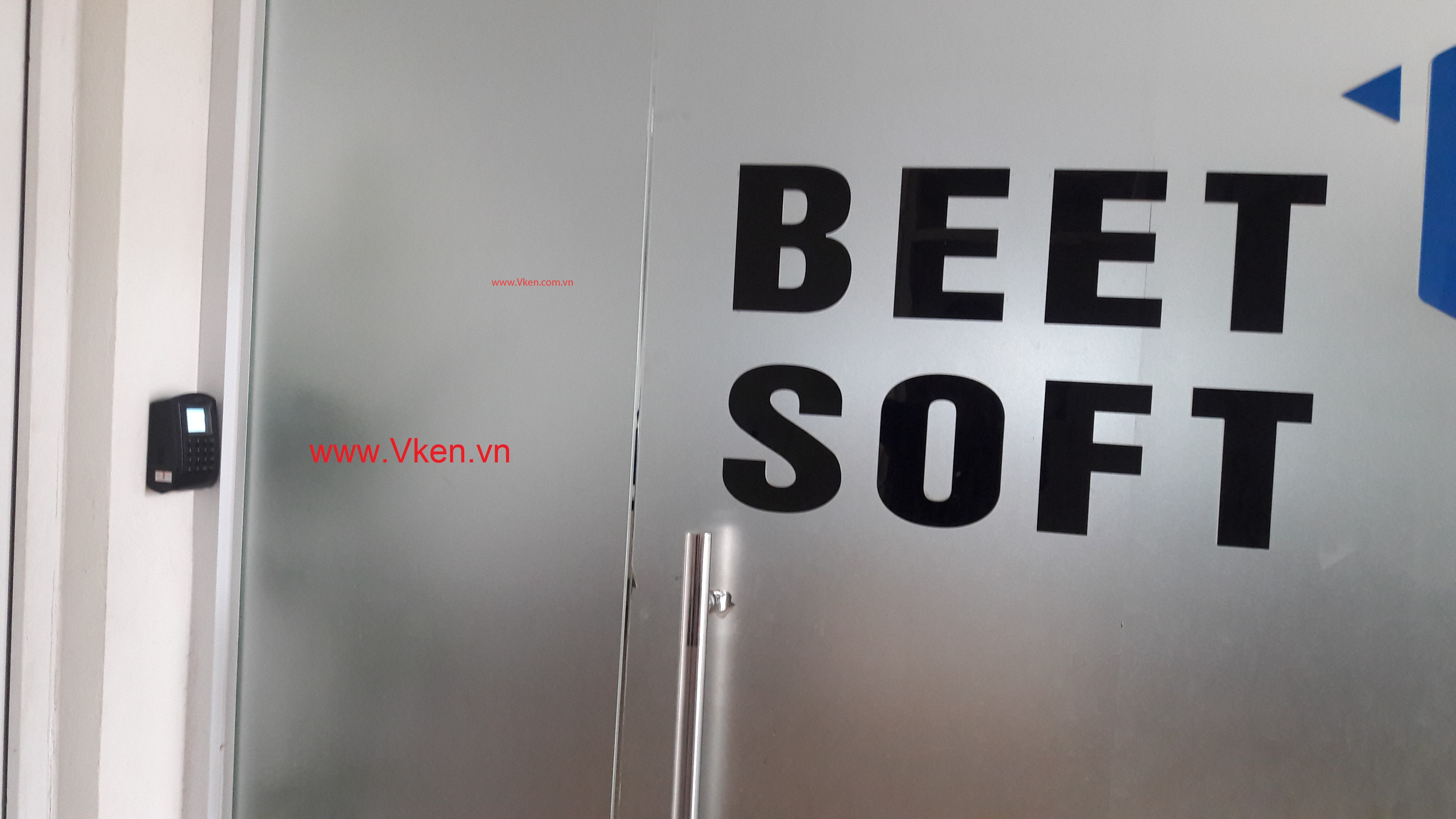 Hệ thống kiểm soát ra vào cửa văn phòng