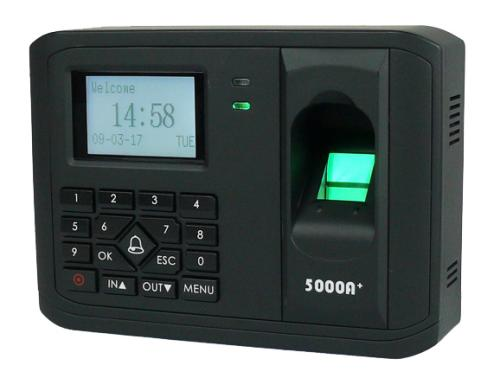 Máy chấm công và kiểm soát ra vào bằng vân tay và thẻ từ GRANDING BioSH-5000APlus+ID